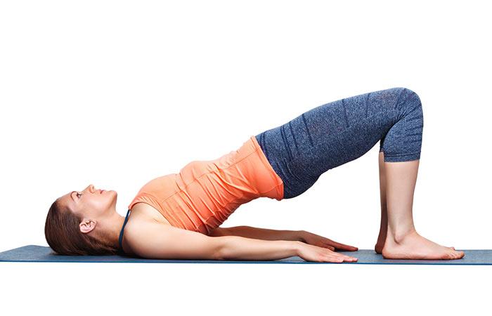 Setu Bandhasana - Poses de ioga para uma boa saúde