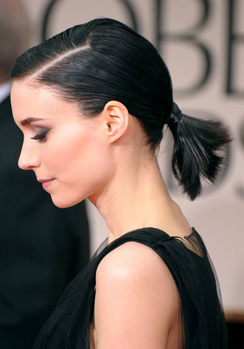 Slick Low Ponytail
