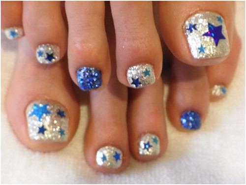 Star Toe Nails Pinit