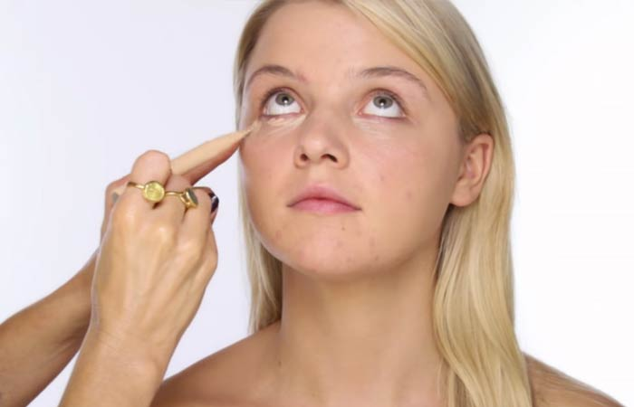 Step 2 Cover Up Undereye Circles