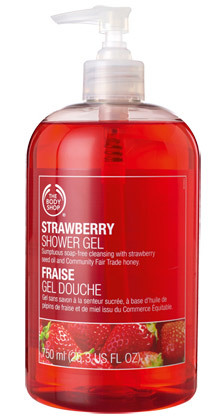 Strawberry Shower Gel - Dia Mirza's Beauty Secrets