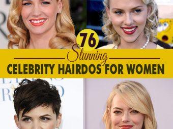 Stunning Celebrity Hairdos