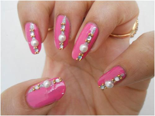 wedding day nail art 5