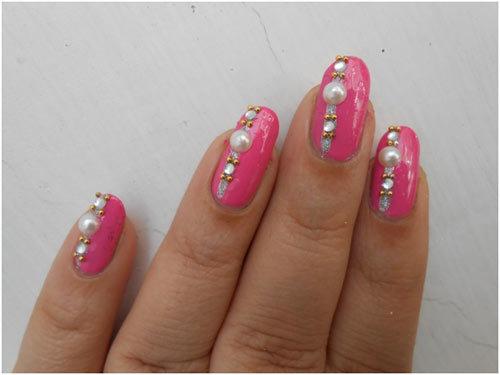wedding day nail art 6