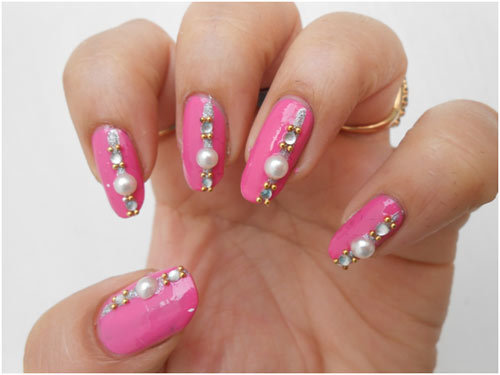 wedding day nail art 7
