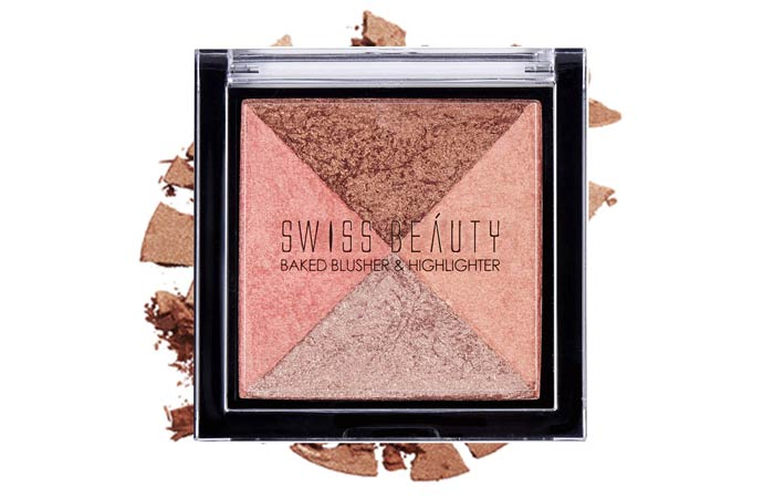 Swiss Beauty Baked Blusher Highlighter