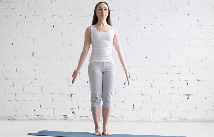 Tadasana - Poses de ioga para uma boa saúde