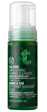 Tea Tree Skin Clearing Foaming Cleanser - Dia Mirza's Beauty Secrets