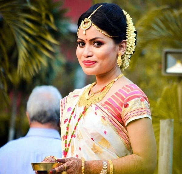 Most Beautiful Indian Bridal Looks - The Assamese Bridal Look