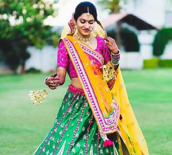 Most Beautiful Indian Bridal Looks - The Gujarati Bridal Look