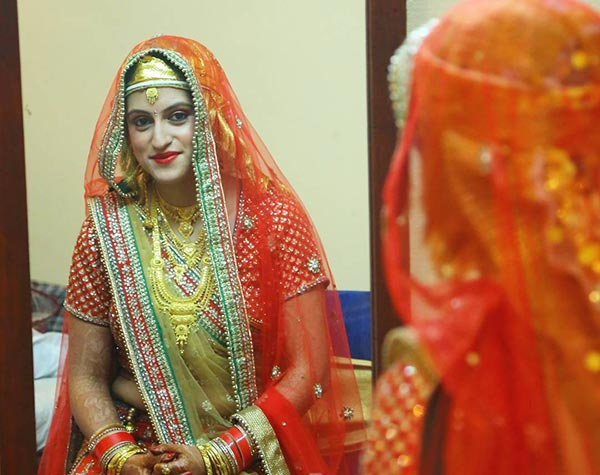 The Kashmiri Bridal Look