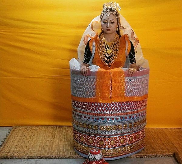 The Manipuri Bridal Look