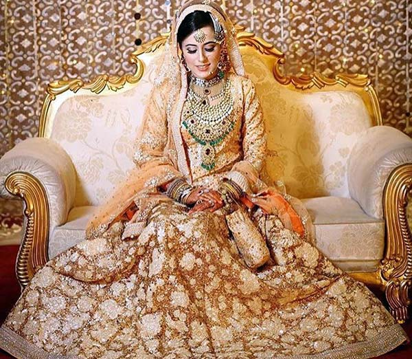 Most Beautiful Indian Bridal Looks - Muslim Bridal Look