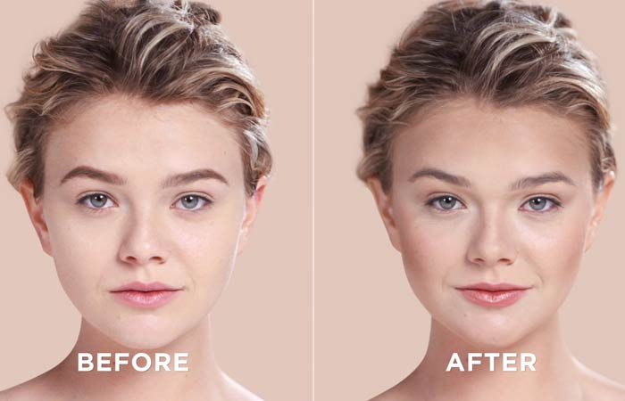 How To Contour Your Face - Voila! That's the end result
