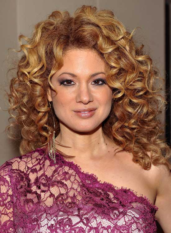 Tremendous 50 Amazing Layered Hairstyles For Curly Hair Hairstyles For Women Draintrainus