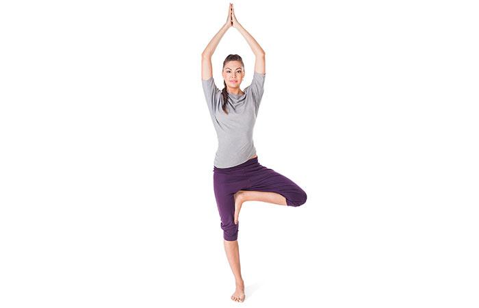 Vrikshasana - Poses de ioga para uma boa saúde
