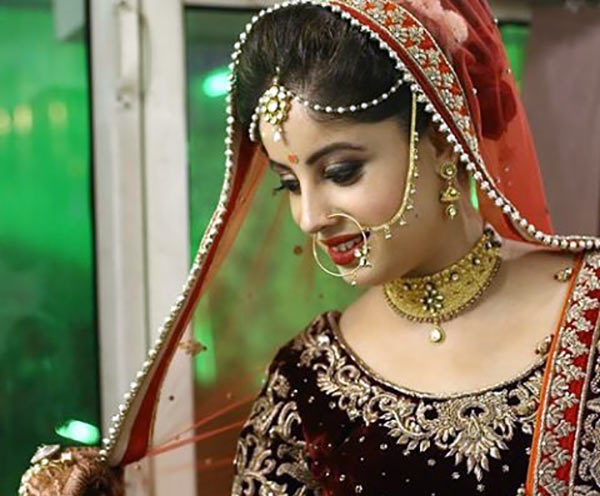 Beautiful Indian Dulhan Makeup Looks - Modern Bride Makeup Look