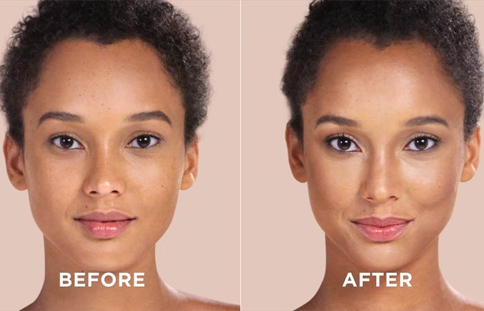 How To Contour Your Face - this is the final outcome
