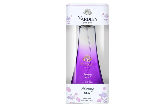 1. Morning Dew By Yardley London Perfumed Cologne