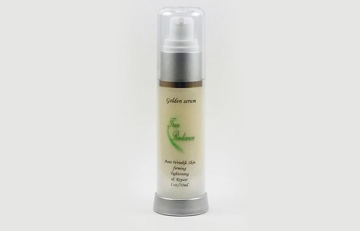 10. Golden Serum For Skin Tightening