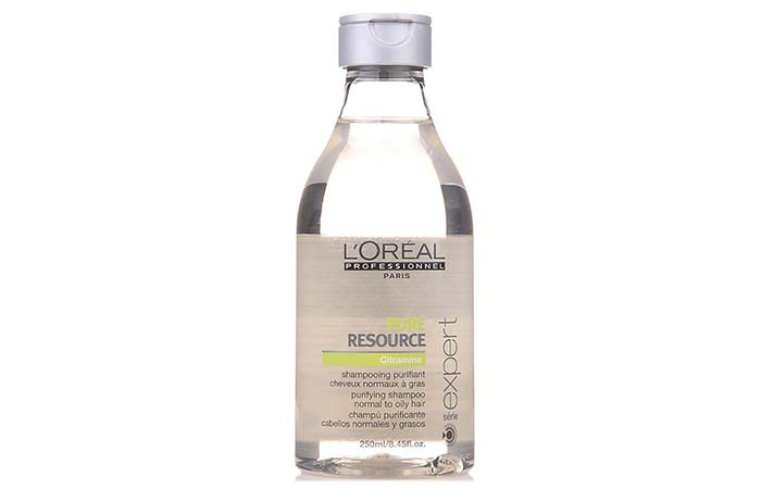 10. L'Oreal Paris' Professionnel Serie Expert Pure Resource Shampoo