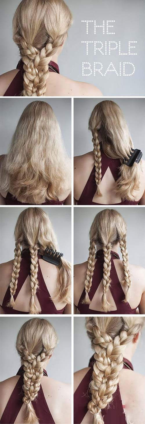 10. Triple Braid
