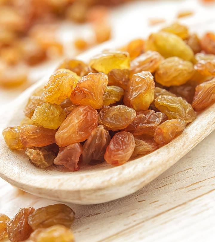 Top 23 Benefits Of Raisins (Kishmish) For Health, Skin And Hair