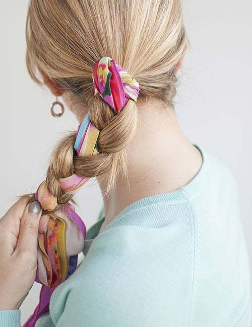 16. Scarf Braid