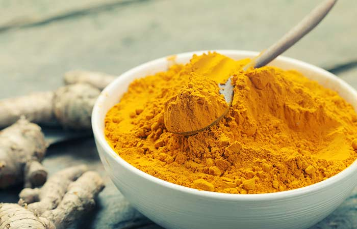 17. Turmeric For Hair Growth
