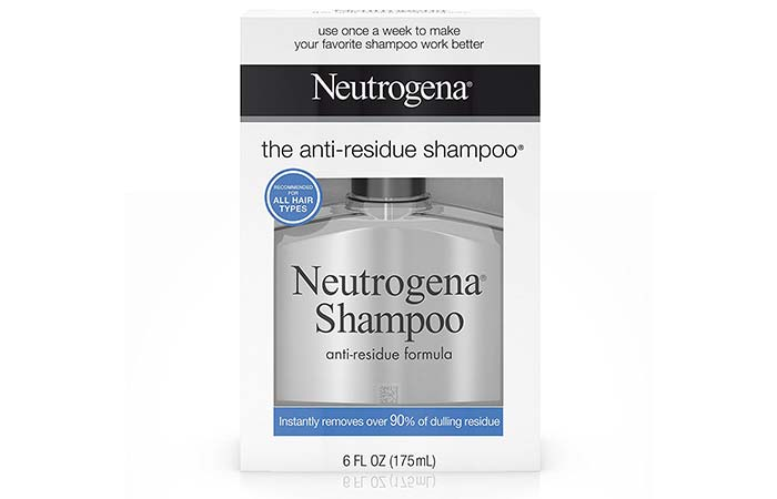 2. Neutrogena Shampoo The Anti-Residue Formula