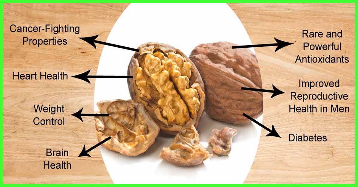 12 Incredible Benefits Of Walnuts