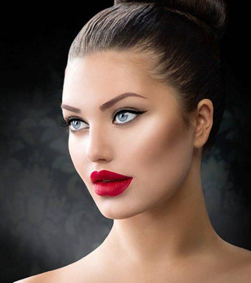 Mattify A Glossy Lipstick- A Step By Step Tutorial
