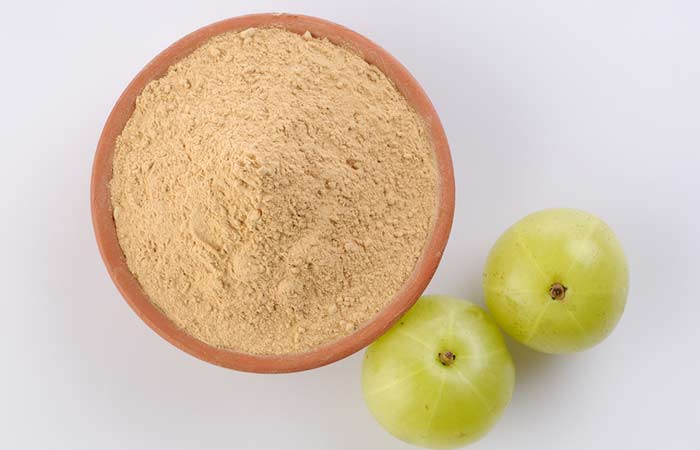 21. Amla Powder For Hair Growth
