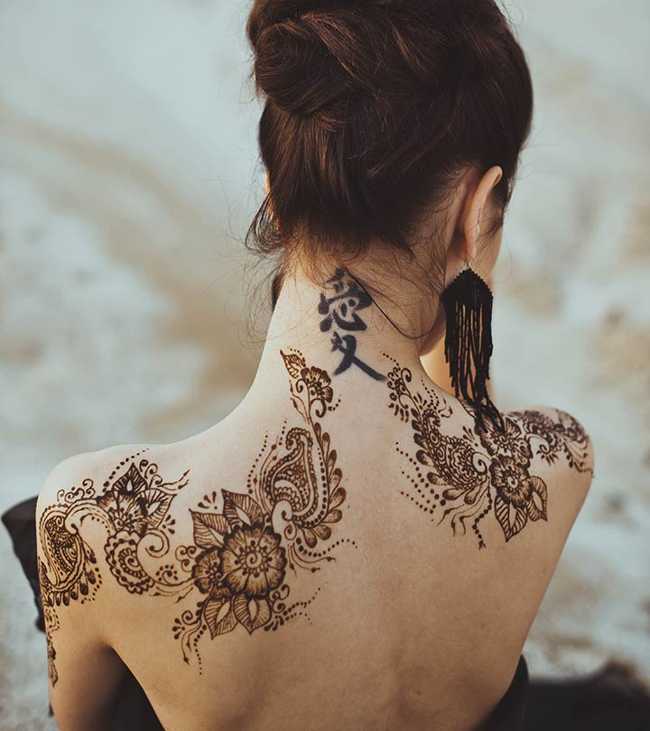 1560b01871381 8 Most Stunning Mehndi Tattoo Designs To Try In 2019