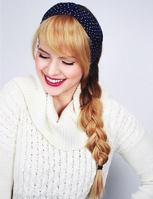 3. Headband Braid