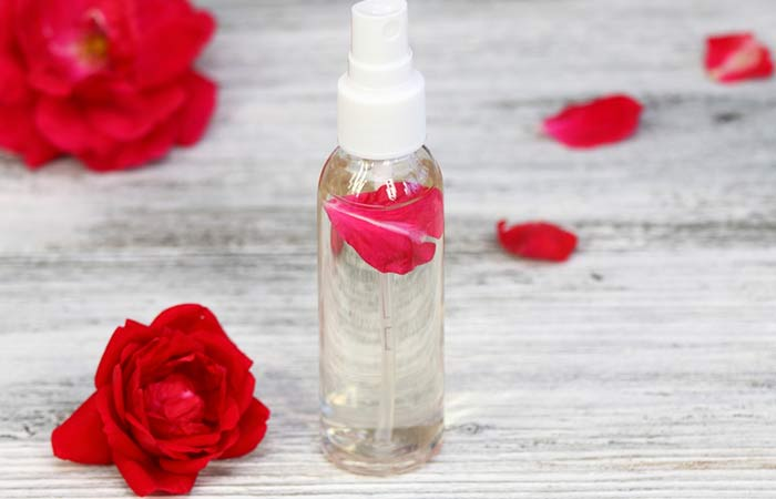 31. Rose Water For Hair Growth