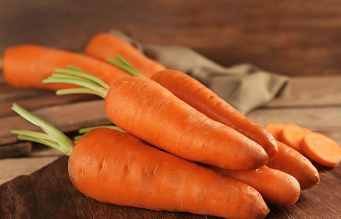 33. Carrots For Hair Growth