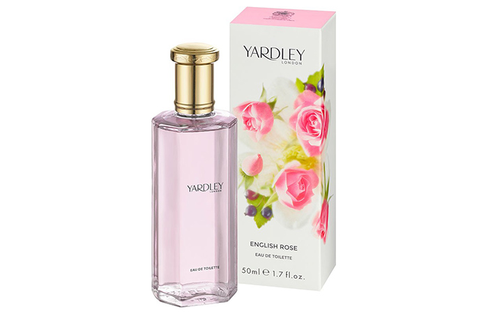 5. English Rose By Yardley London Eau De Toilette