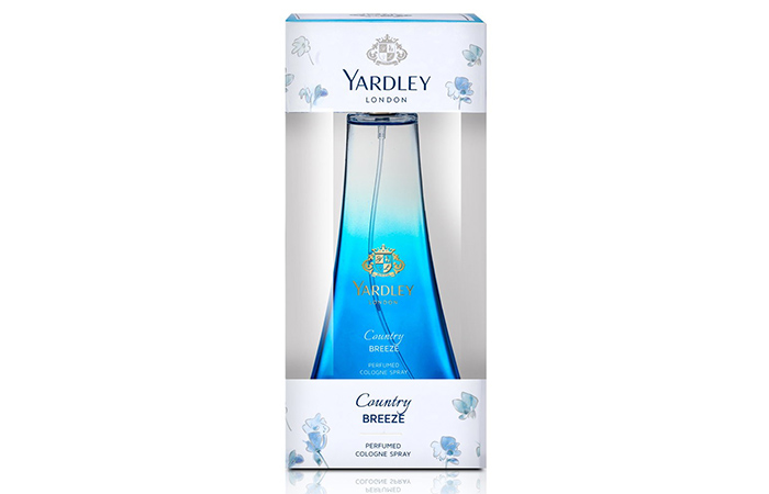 6. Country Breeze By Yardley London Perfumed Cologne