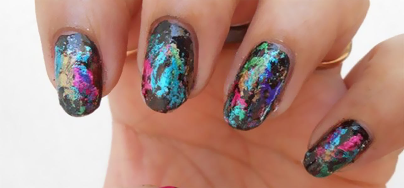 Foil Nail Art Designs - NailArts Ideas