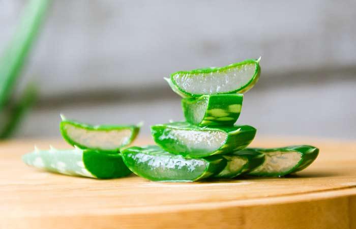 7. Aloe Vera Gel For Hair Growth