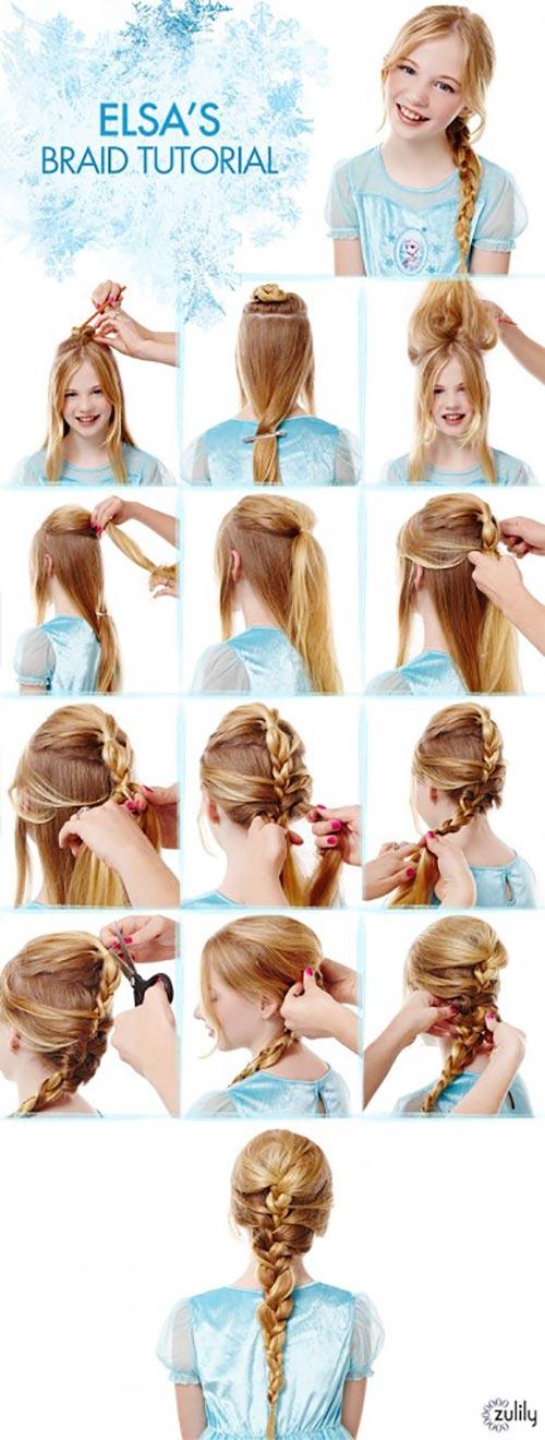 7. Elsa's Braid
