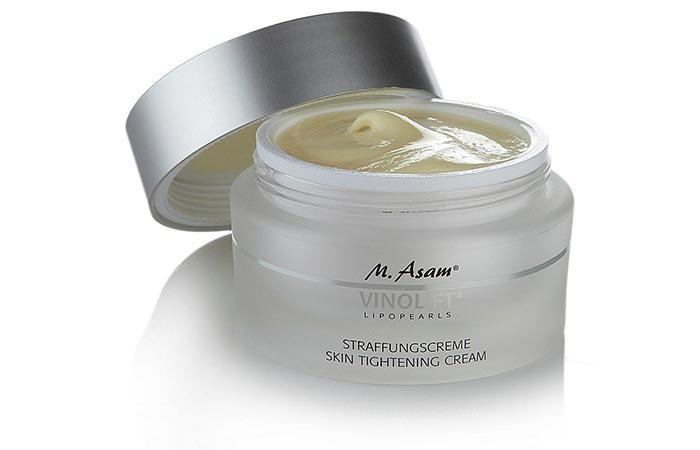 7. M. Asam Vinolift Skin Tightening Cream