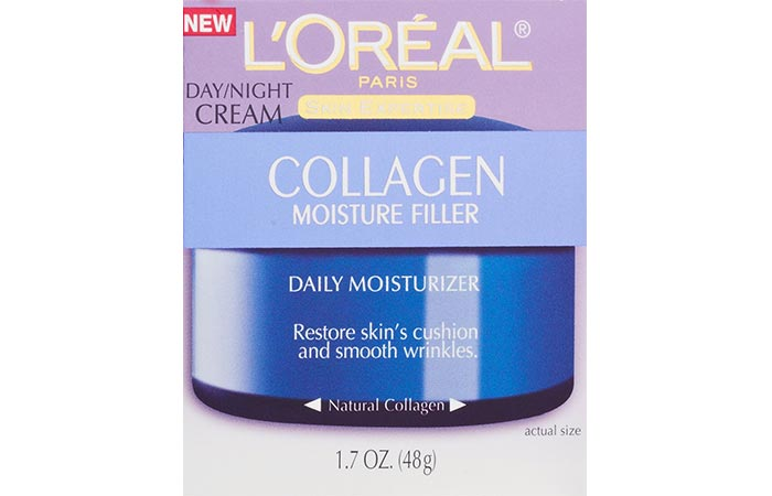 8. L'Oreal Paris Collagen Moisture Filler DayNight Cream
