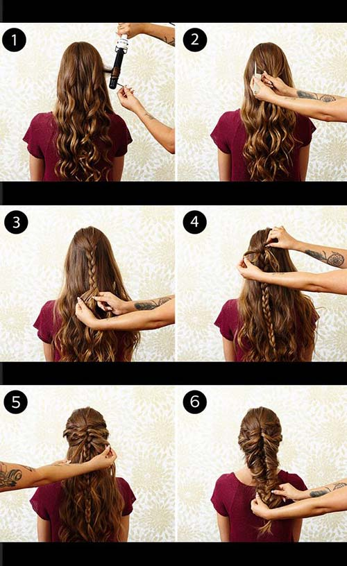 9. Messy Mermaid Braid