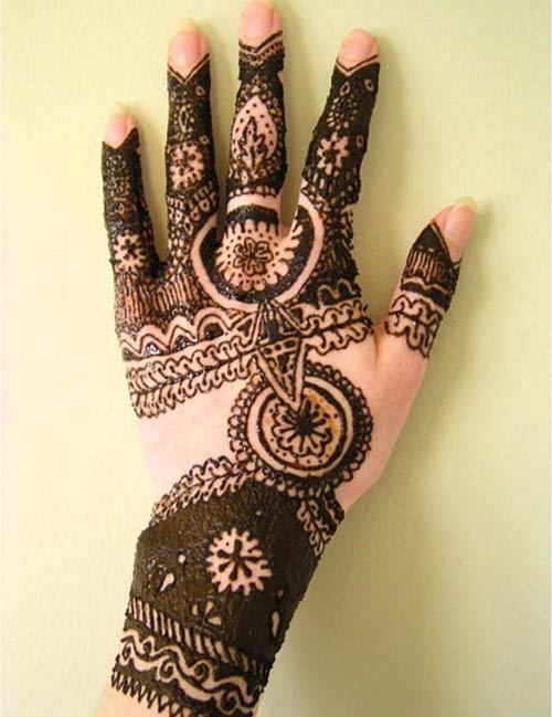 36 Mehandi Designs For Hands To Inspire You - The Complete Guide ...