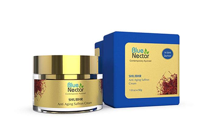 Blue Nectar SHUBHR Anti Aging Saffron Cream