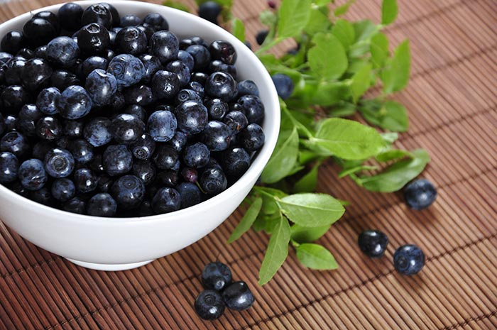 Blueberries are fruits