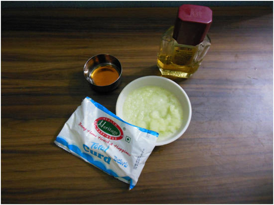 Cabbage And Honey Mask