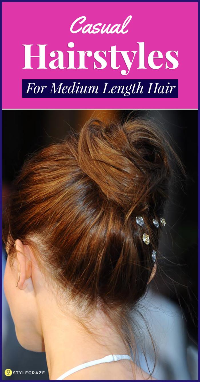 Casual-Hairstyles-For-Medium-Length-Hair
